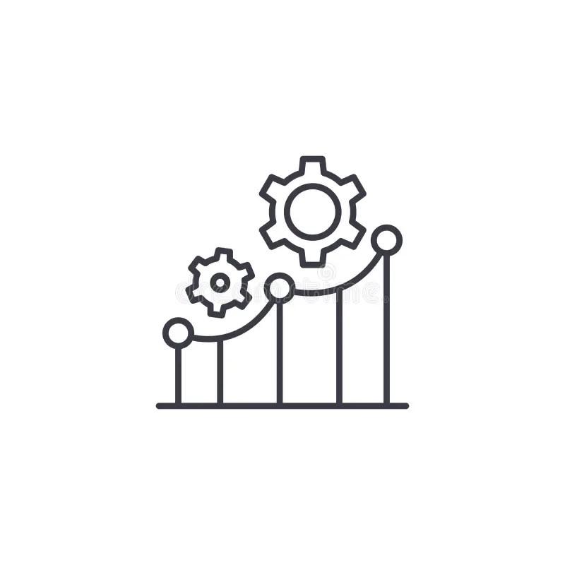 Key performance indicators stock illustration