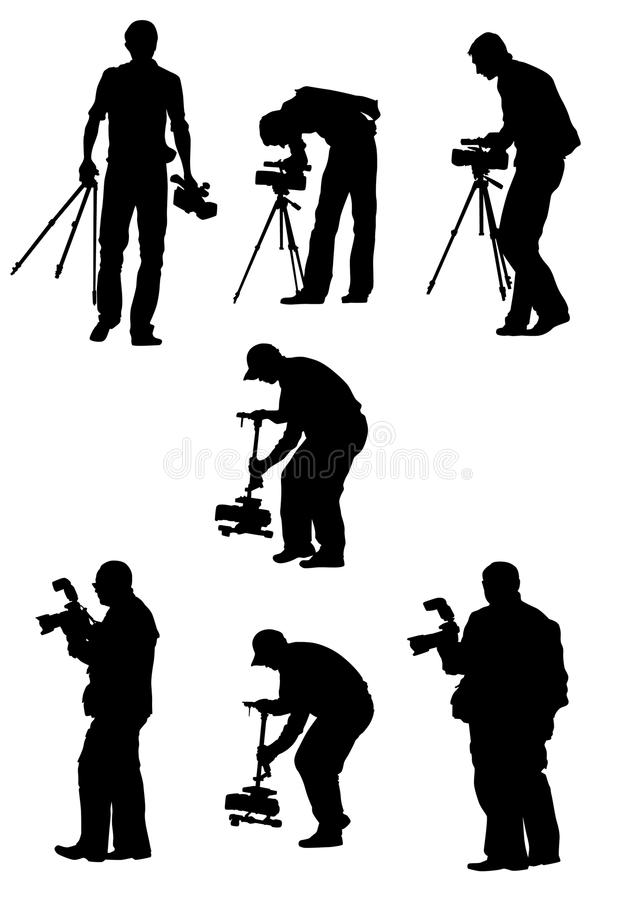 Celebrity stock vector. Illustration of paparazzi