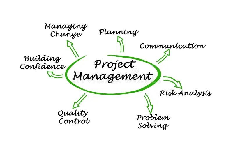 Seven Quality Management Principles Stock Illustration