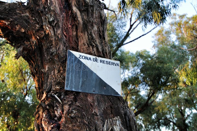 Kate has over eight years of experience as an emplo. Protected Nature Reserve Area Sign On Damaged Bark Texture Stock Photo Image Of Bark Isolated 166624852