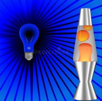 Psychedelic Blacklight Lava Lamp 70's Stock Vector ...