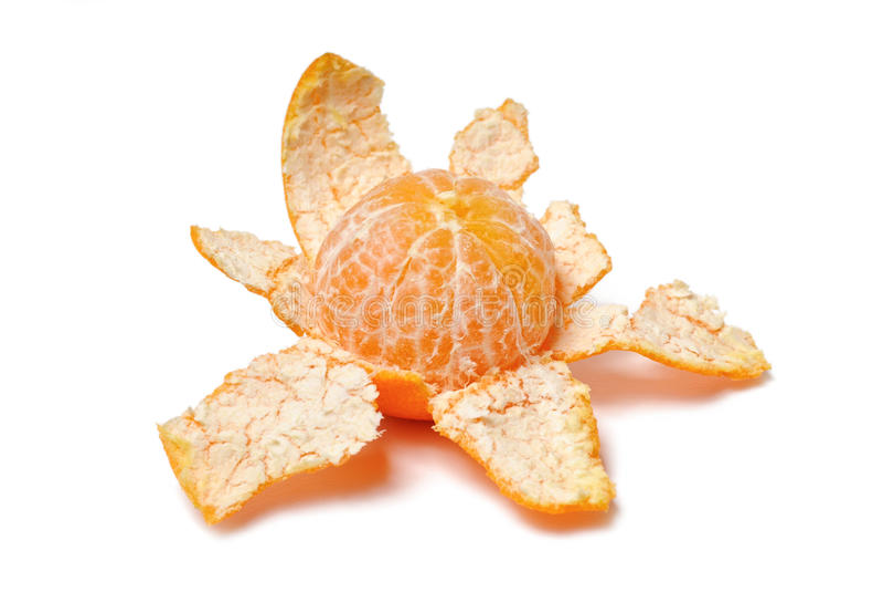 Purified mandarin peel stock image. Image of purified - 22461061