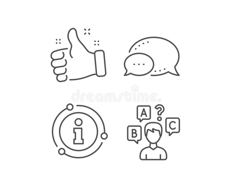 Quiz Sign Icon. Questions And Answers Game. Vector Stock