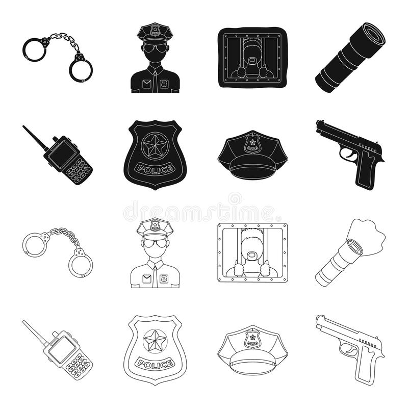 Police Officer Badge Stock Illustrations