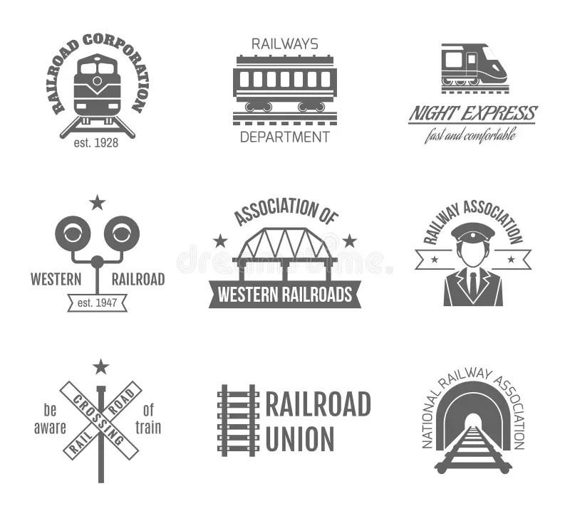 Railway Stock Illustrations