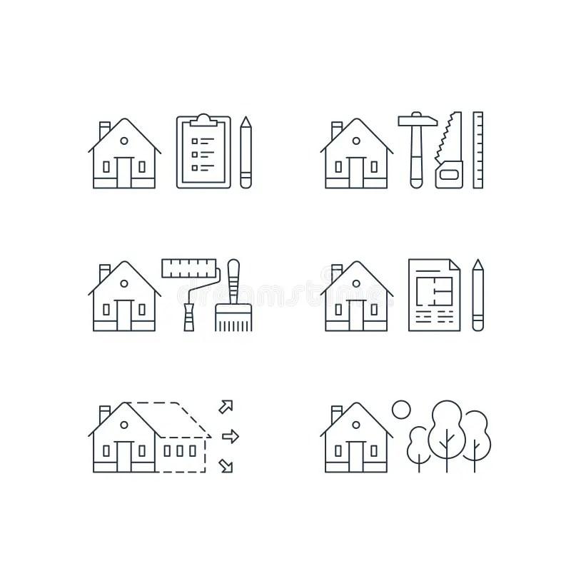 Home Improvement, Real Estate Estimation Concept, House