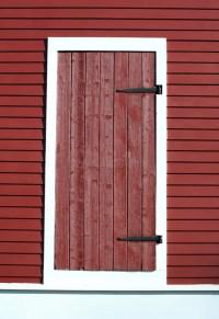 Red barn door stock photo. Image of rustic, wood, building ...