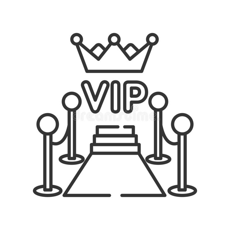Vip Button Stock Illustrations