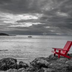 2 X 4 Adirondack Chair Plans Dining Chairs For Sale Red Black And White Nature Background Stock Image - Of Contrasting, Isolated: 48389037