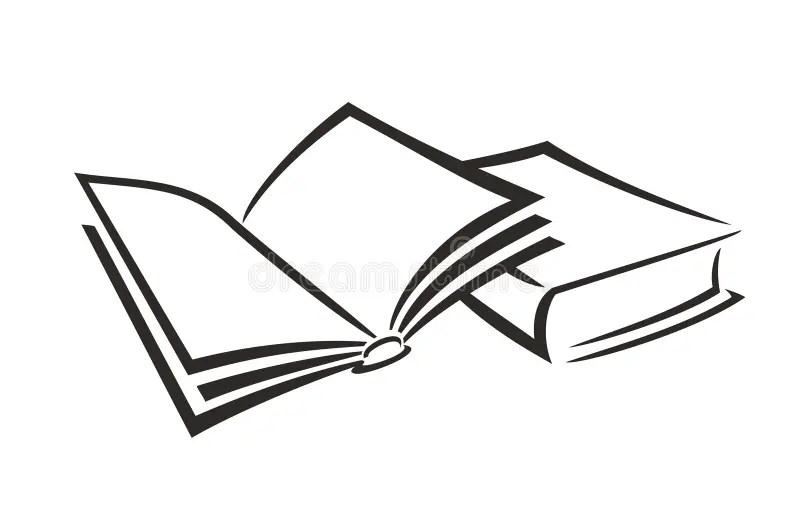 Reserve abierto ilustración del vector. Ilustración de