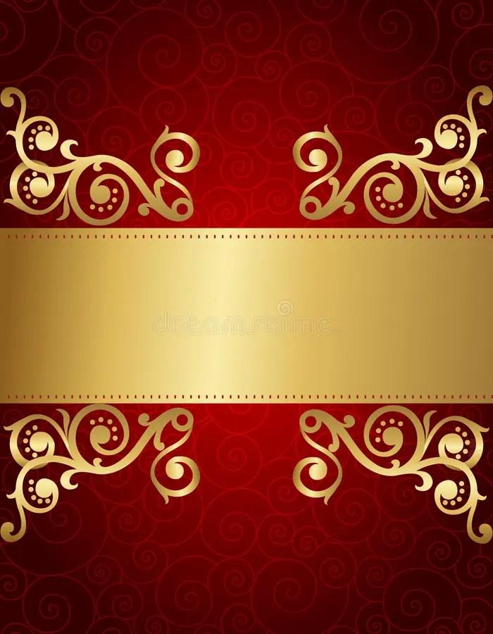Retro Invitation Background Stock Vector Illustration Of