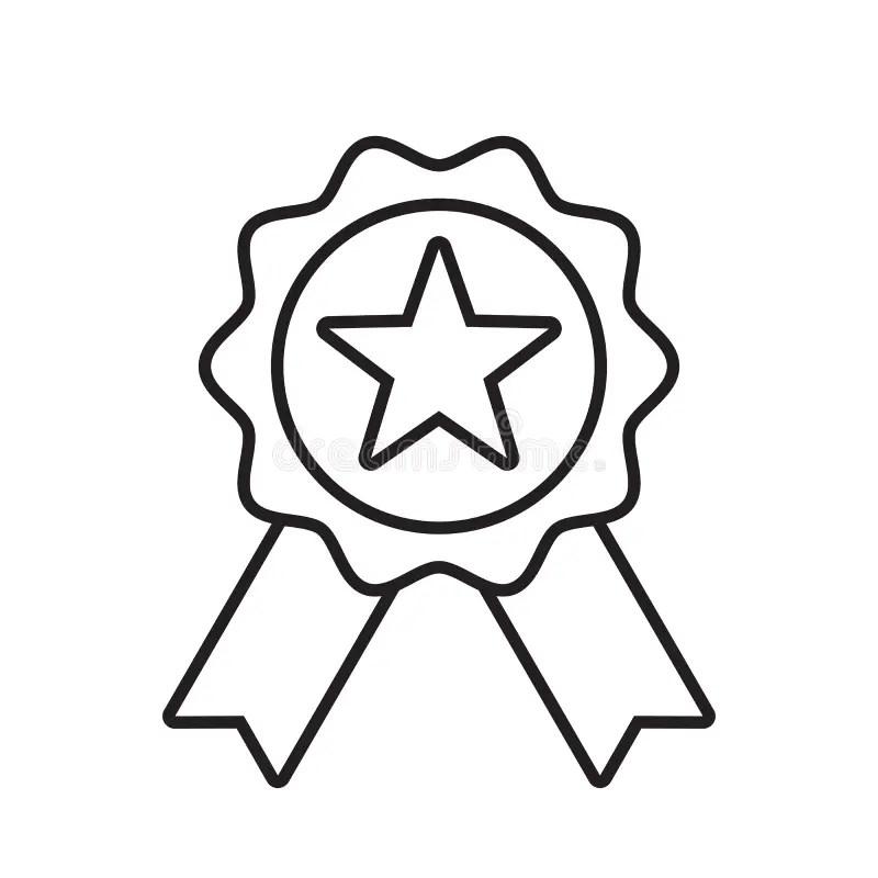 Winner Badge stock vector. Illustration of award, victory