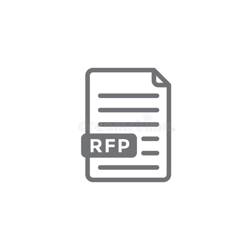 Request Proposal Rfp Stock Illustrations