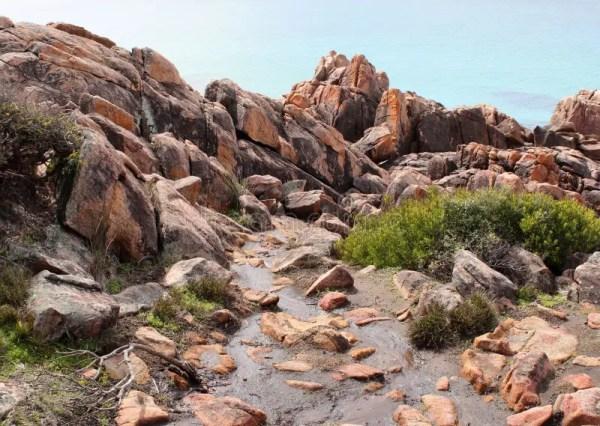rocky beach landscape bunker's
