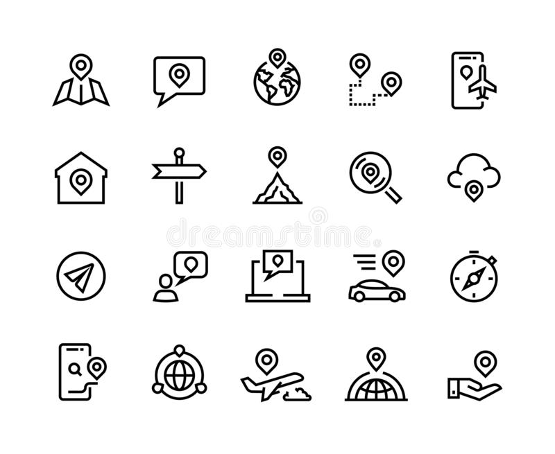 GPS Tracking stock vector. Illustration of technology