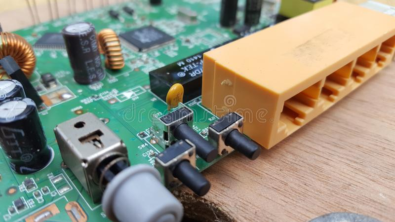 Glass On The Electronic Schematic Diagramideal Technology Background