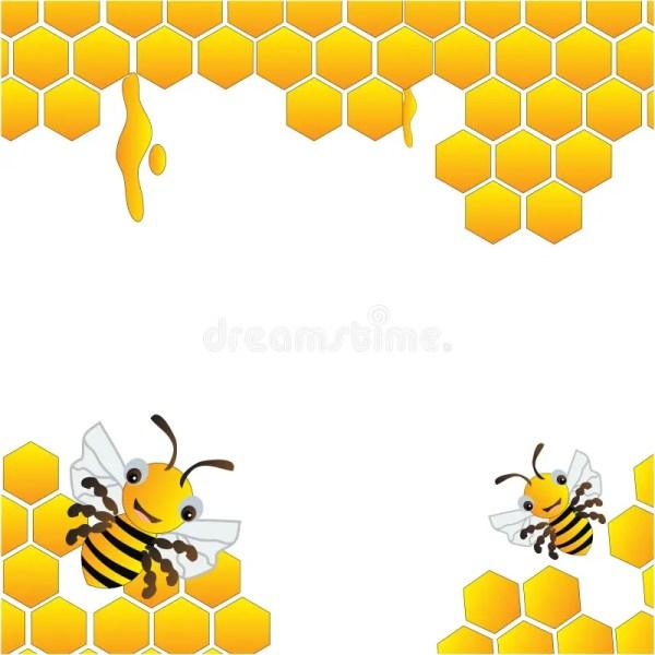 Free Honey Bee Hive Background
