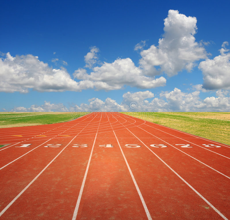running track stock image image of fast landscape olympic