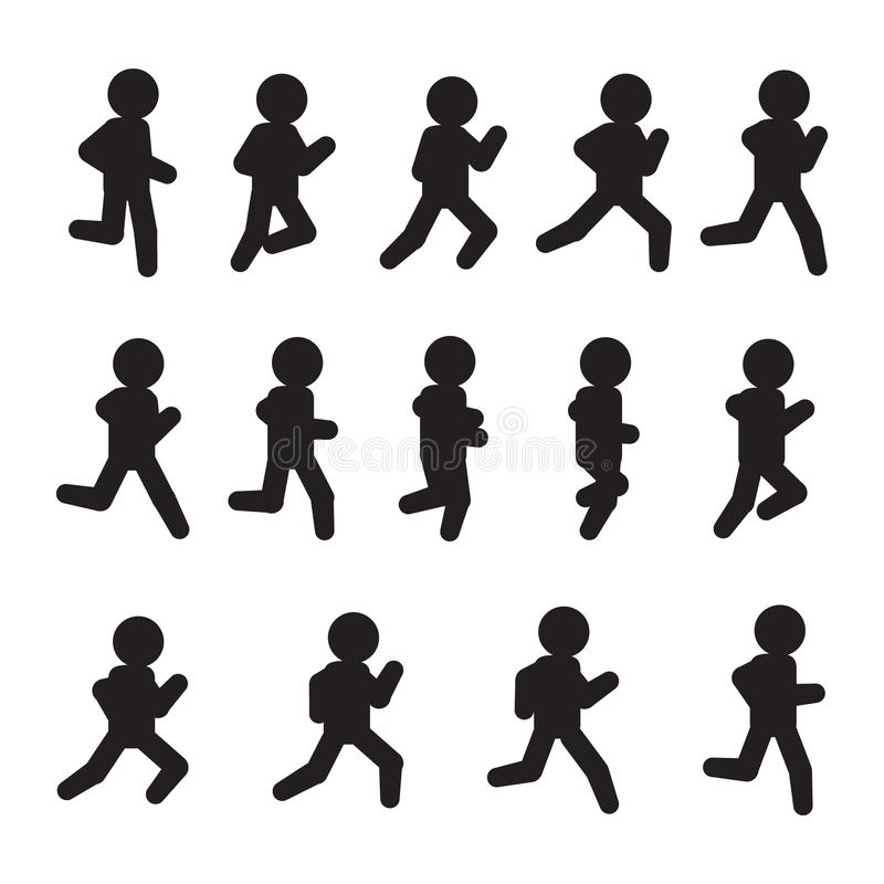 Movement Sequence Stock Illustrations