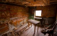 Rustic Shack Interior stock image. Image of frontier ...
