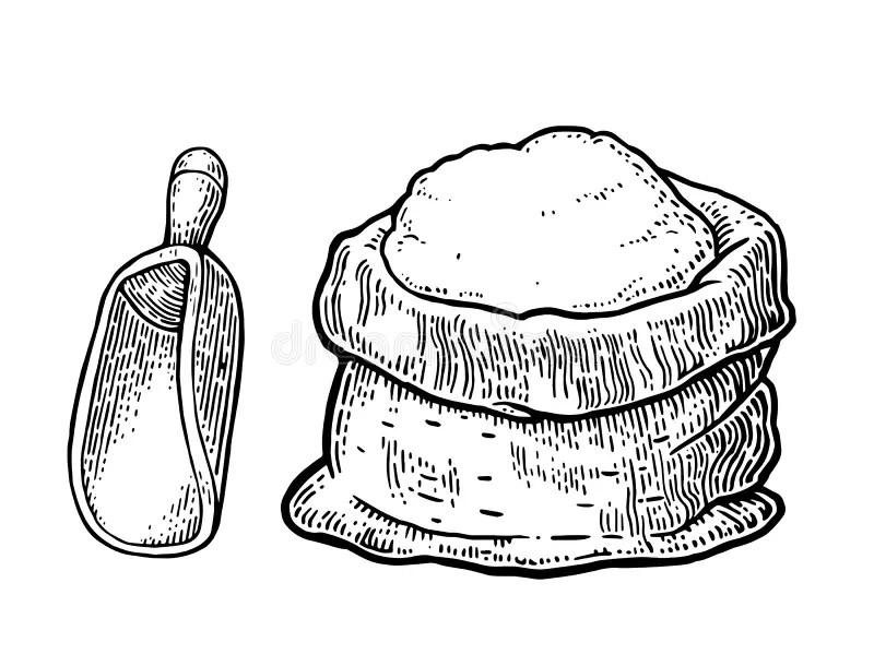 Farina Illustrazioni, Vettoriali E Clipart Stock