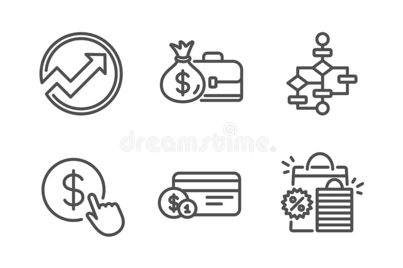 Audit, Payment Exchange And Change Card Icons Set. Finance