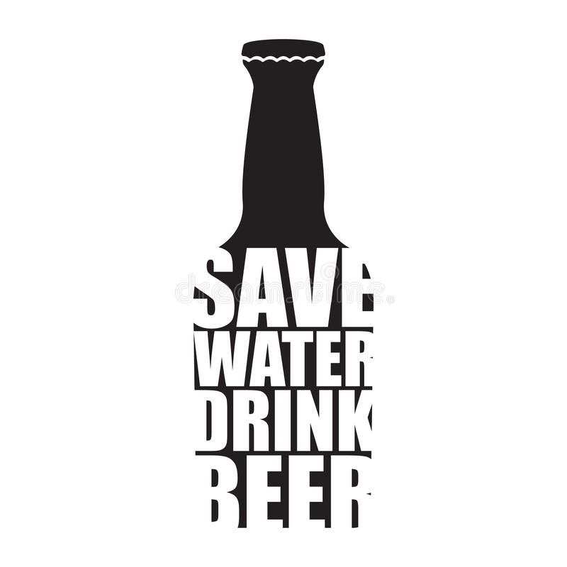 Save water sketch stock illustration. Illustration of