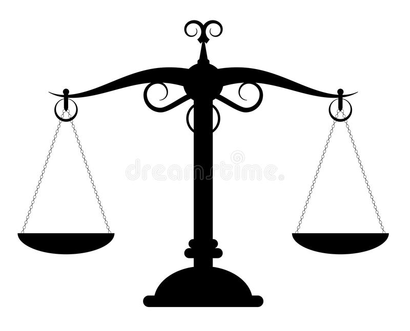 Scales weight stock vector. Illustration of legal, weight