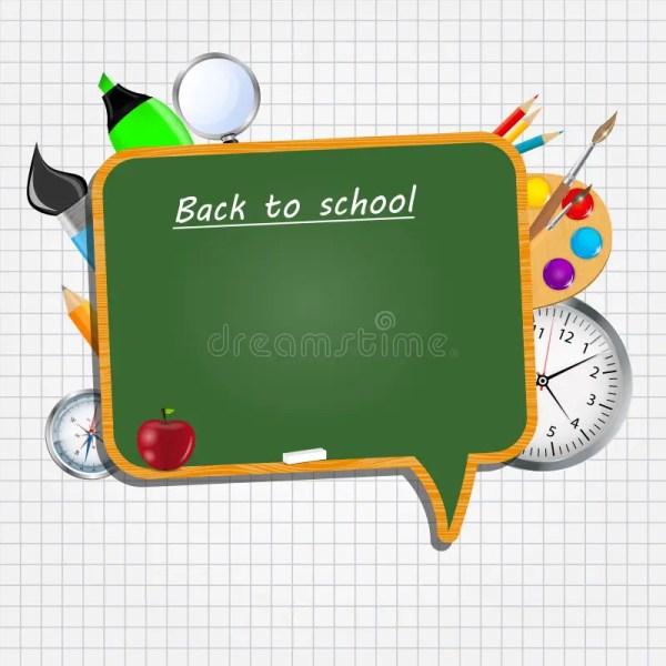 School Board Icon Vector Illustration Stock
