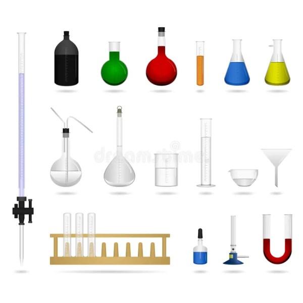 Science Lab Equipment Tool Stock Vector. Illustration Of