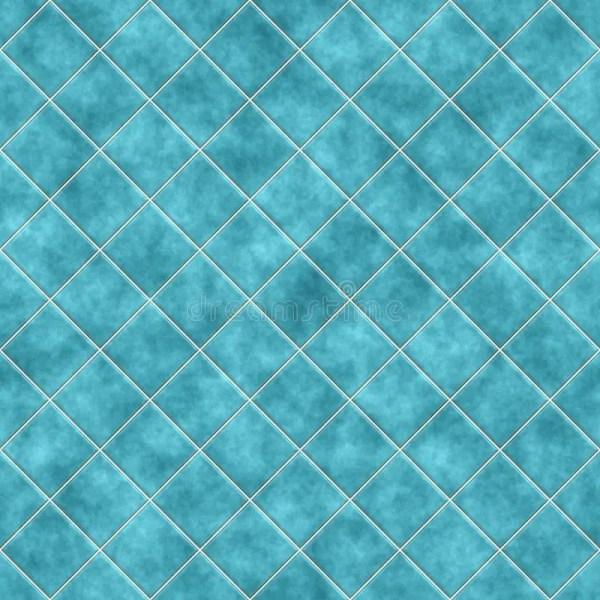 Blue Seamless Tile Texture