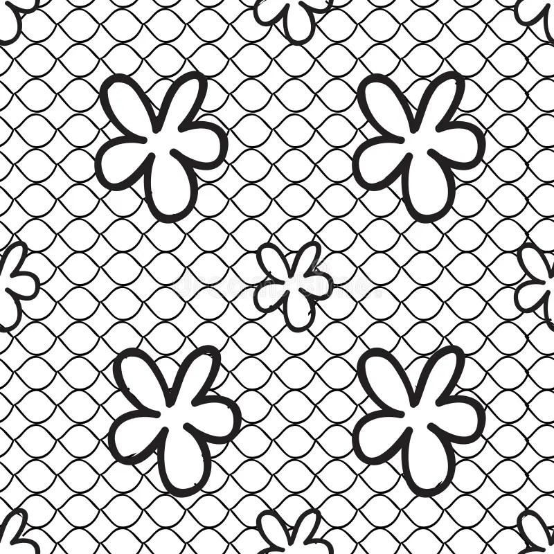 Black lace stock vector. Illustration of needlework