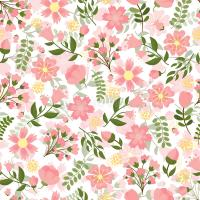 Seamless Spring Floral Background Stock Vector ...