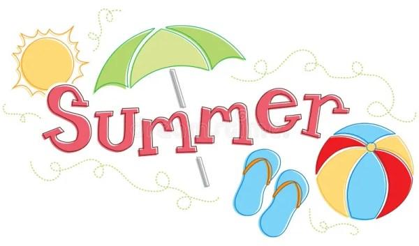 seasonal summer graphic stock vector