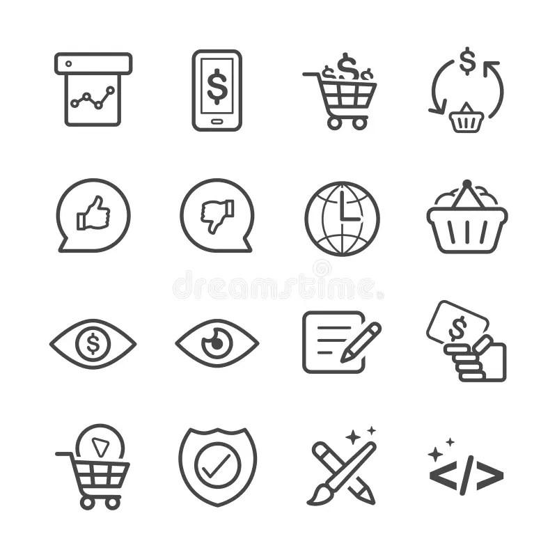 Business Development icons stock vector. Illustration of