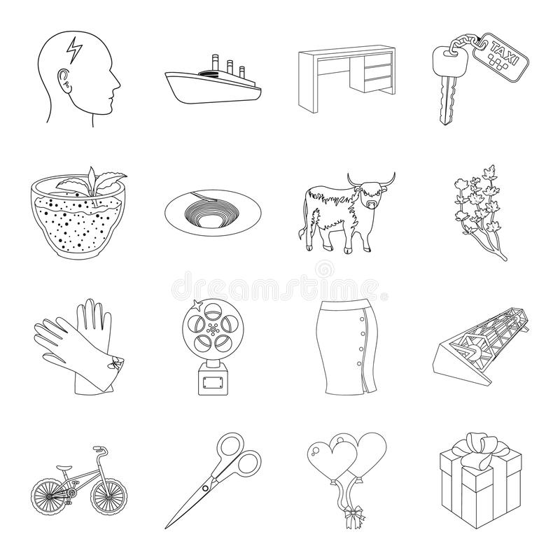 Sports and health icons stock vector. Illustration of