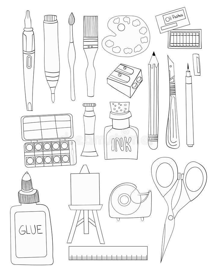 Craft Supplies Stock Illustrations 4 828 Craft Supplies Stock Illustrations Vectors Clipart Dreamstime