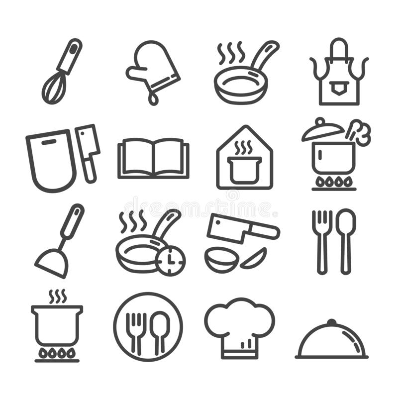 Boil 1 Minute. Cooking Pan Sign Icon. Stew Food. Stock