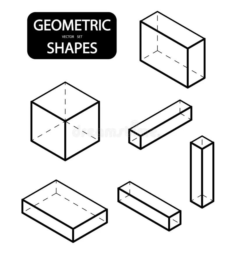 3d basic objects stock illustration. Illustration of cube