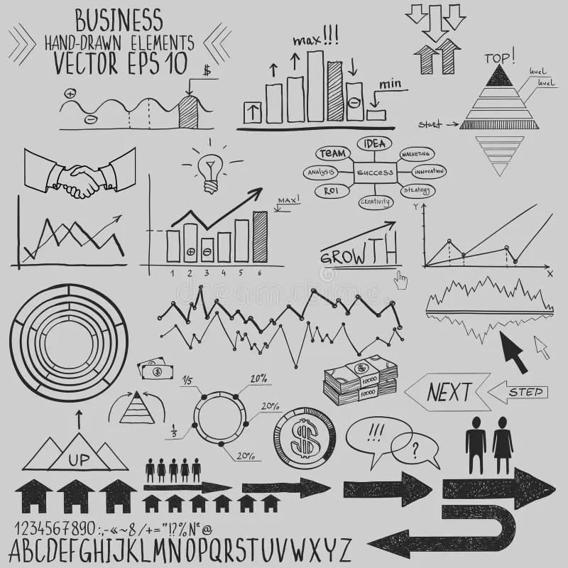 Business Finance Management Infographics Social Stock