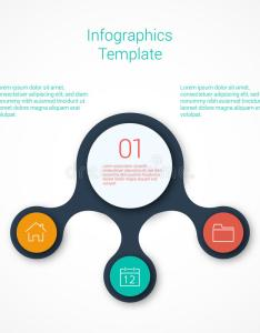 Download set of infographic template layouts flow chart stock vector illustration gloss also rh dreamstime