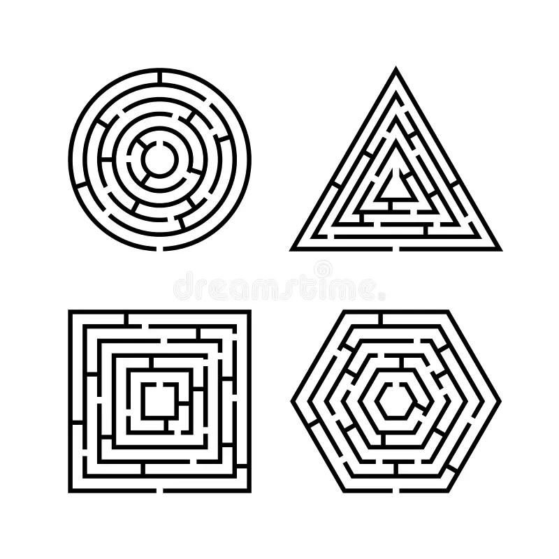 Labyrinth Stock Illustrations