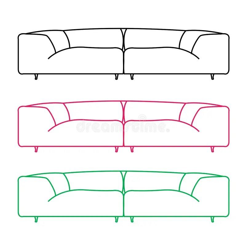 Front Elevation Of Sofa : Front elevation of sofa looksisquare