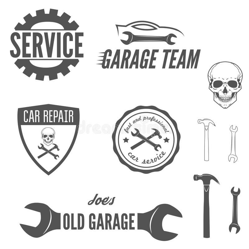 Set Of Logo, Badge, Emblem And Logotype Element Stock