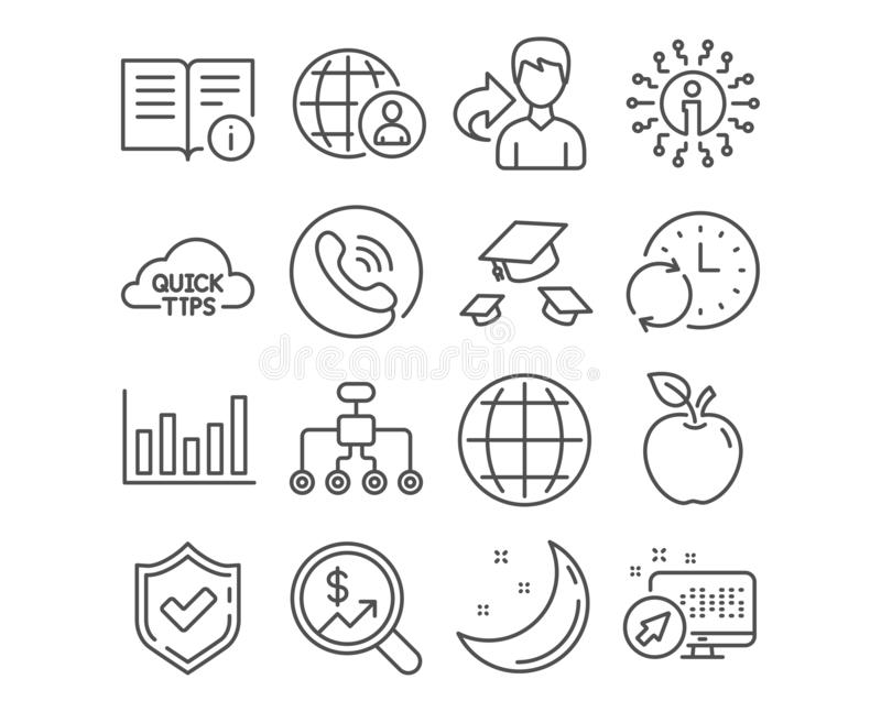 Grade Of The Currency Symbols Stock Illustration