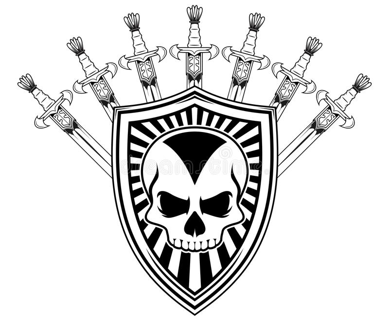 Shield And Swords Stock Vector Image Of Victory Image