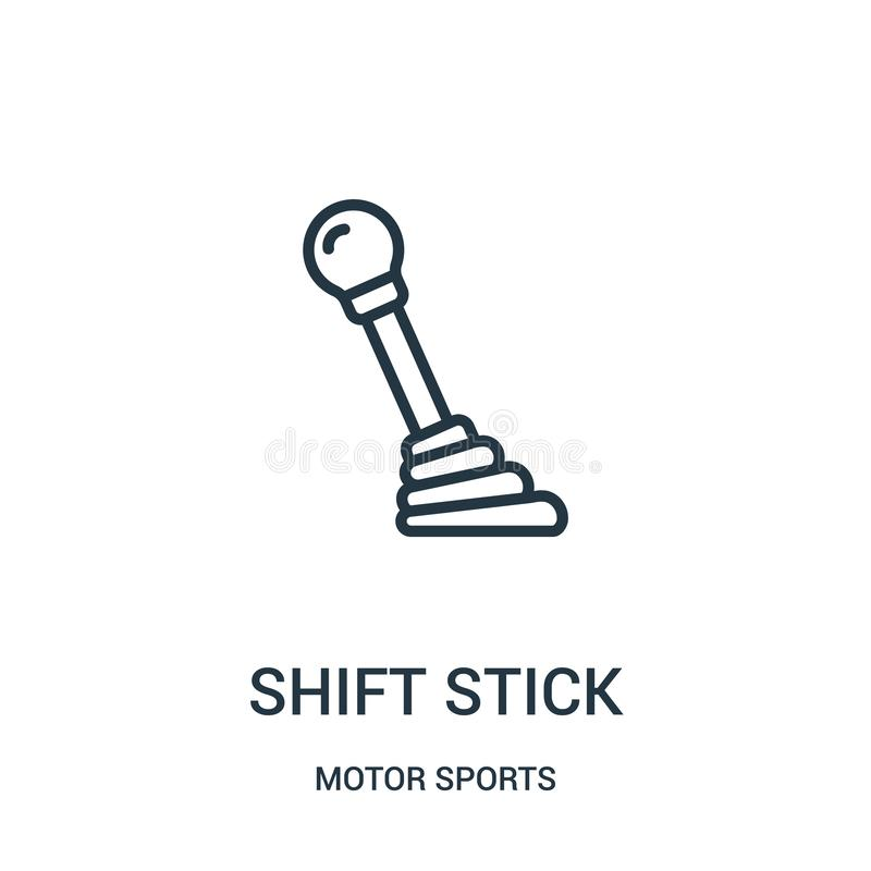 Stick shift stock vector. Illustration of clutch, stick