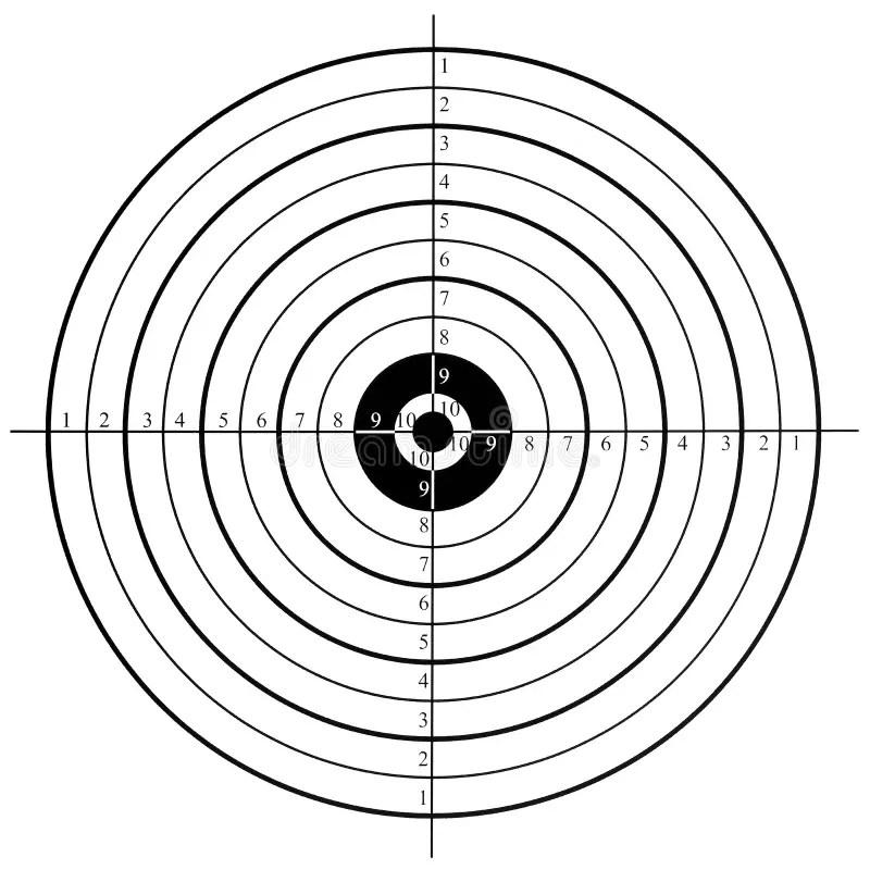Shooting target stock image. Image of practicing, shoot