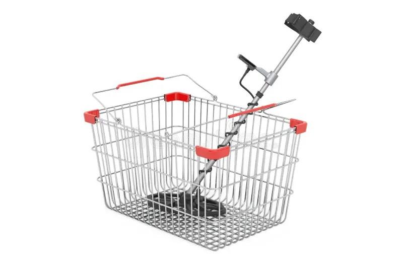 Basket Of Metal Wires Vector 01 Stock Vector