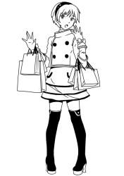 Shopping fashion girl stock vector Illustration of sporty 52617361